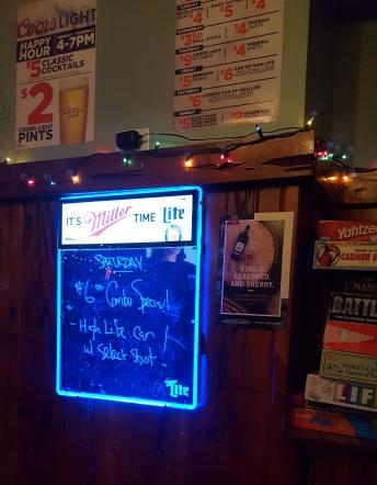 Parrot Bar specials